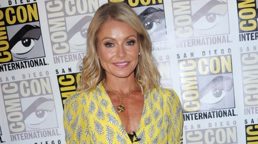 Kelly Ripa at San Diego Comic-Con on July 20, 2018